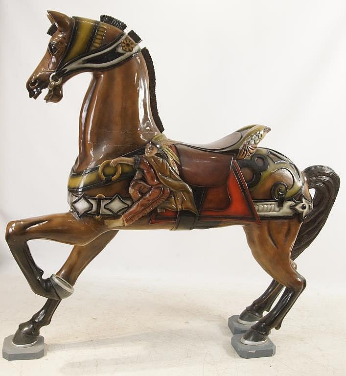 Dentzel - Muller Style standing carrousel horse
