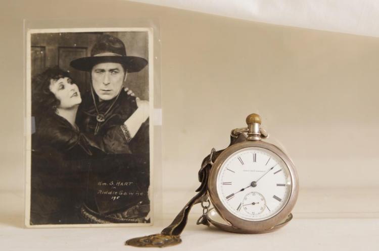 Actor William S. Hart Elgin Pocket Watch