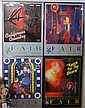 Collection of 7 Ventura County Fair framed Posters