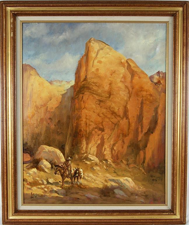 Lyle Tayson (1924-) oil 30