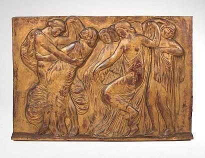 BERNARD Joseph (1864-1933). Frise de la danse Bas