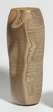 ASTOUL Éric (né en 1954) Vase rouleau en grès