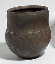 ASTOUL Éric (né en 1954) Vase jarre en grès de