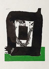 MOTHERWEL Robert (1915-1991) Composition abstraite