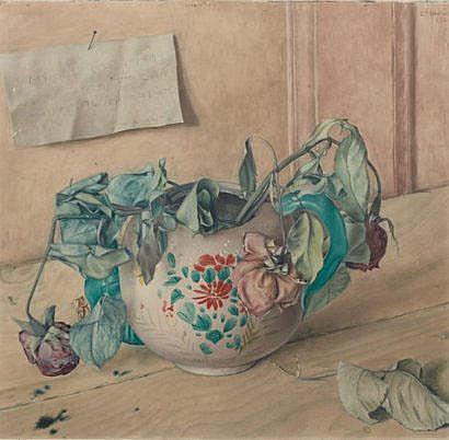 BARRAUD Charles (1897-1997) Nature morte Gouache