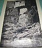CAIN, Charles W., (1893 1962), ORIGINAL DRYPOINT,, Charles William Cain, Click for value