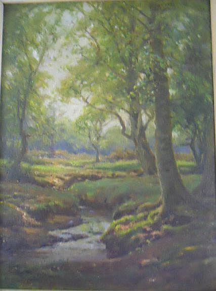SHORT, FREDERICK GOLDEN, (1863-1936), OIL ON
