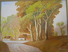 FRANCOIS, Leo Auguste, 1870 - 1938, OIL ON CANVAS
