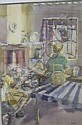 SIHLALI, DURANT BASI (1935 - 2004) WATERCOLOUR,, Durant Basi Sihlali, Click for value