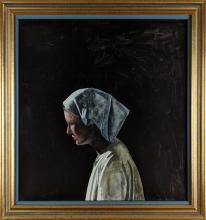 Miguel Padura - Portrait of a Woman