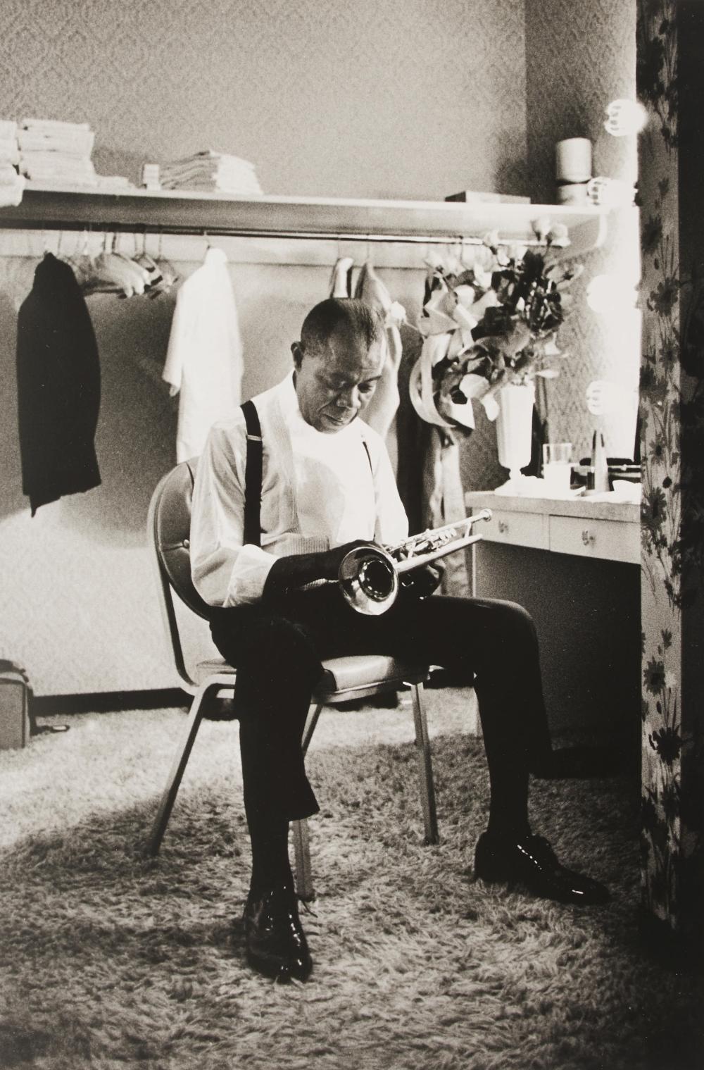 Eddie Adams - Louis Armstrong, Las Vegas