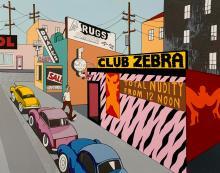KEN PRICE - CLUB ZEBRA
