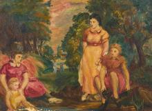 GLEN RANNEY - THREE WOMEN AND A CHILD