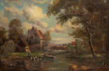 Nicholas Briganti - European Village Scene