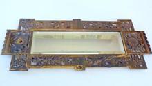 Brass B&H antique mirror/bevelled