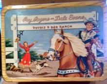 Roy Rogers Lunch box/thermos/vintage