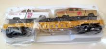 Lionel train cars/vintage boxed racing cars