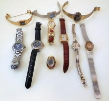 Ladies wristwatches/ring watch vintage collection