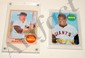 Topps BB cards -M. Mantle and Willie Mays