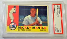 Topps Mickey Mantle 1960
