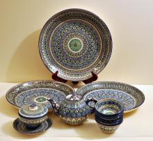 Turkish pottery /vintage platters +