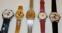 Vintage Mickey Mouse wristwatches