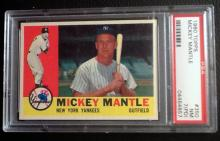 Mickey Mantle 1960 Topps baseball card