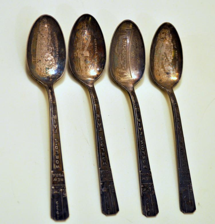 1939 Worlds Fair spoons
