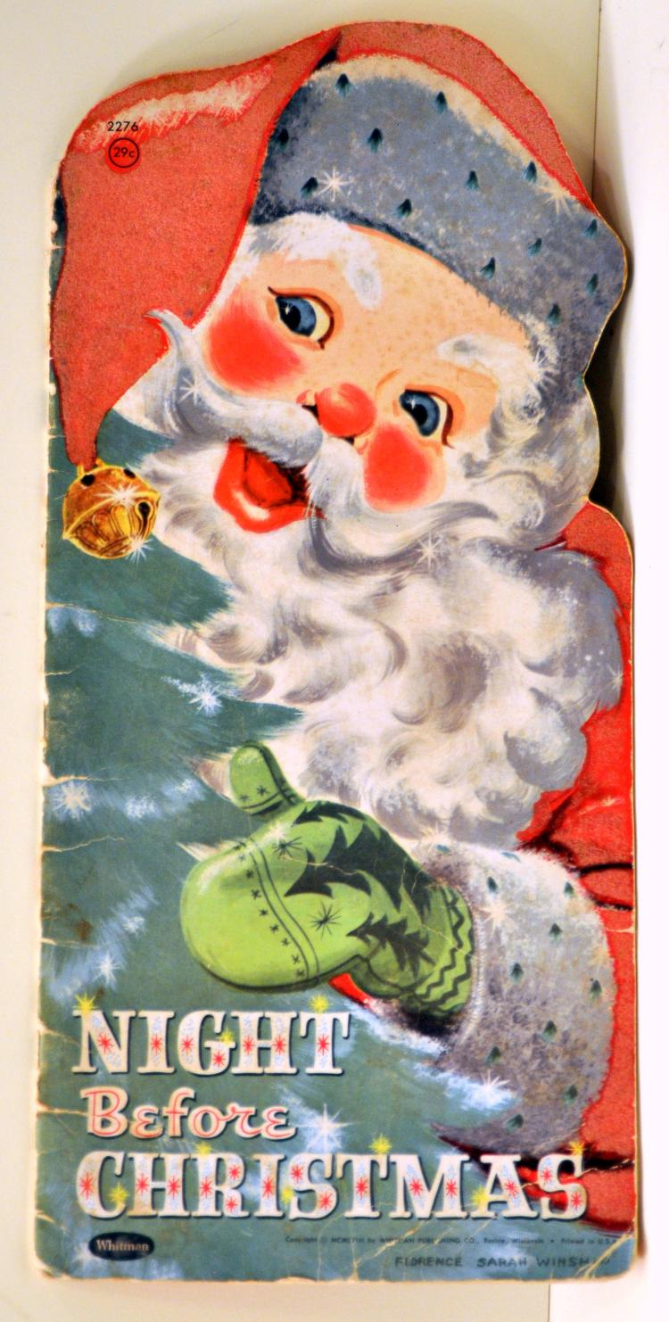 1958 Night Before Christmas book