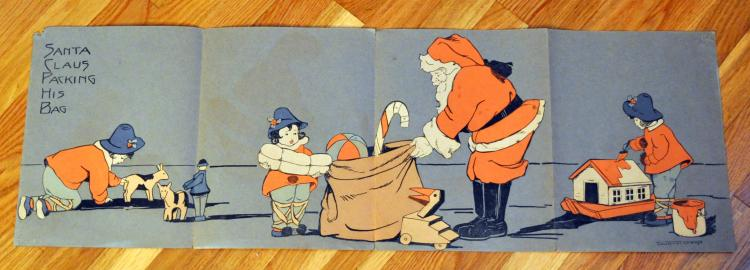 Santa Claus Packing Cleaveland signed