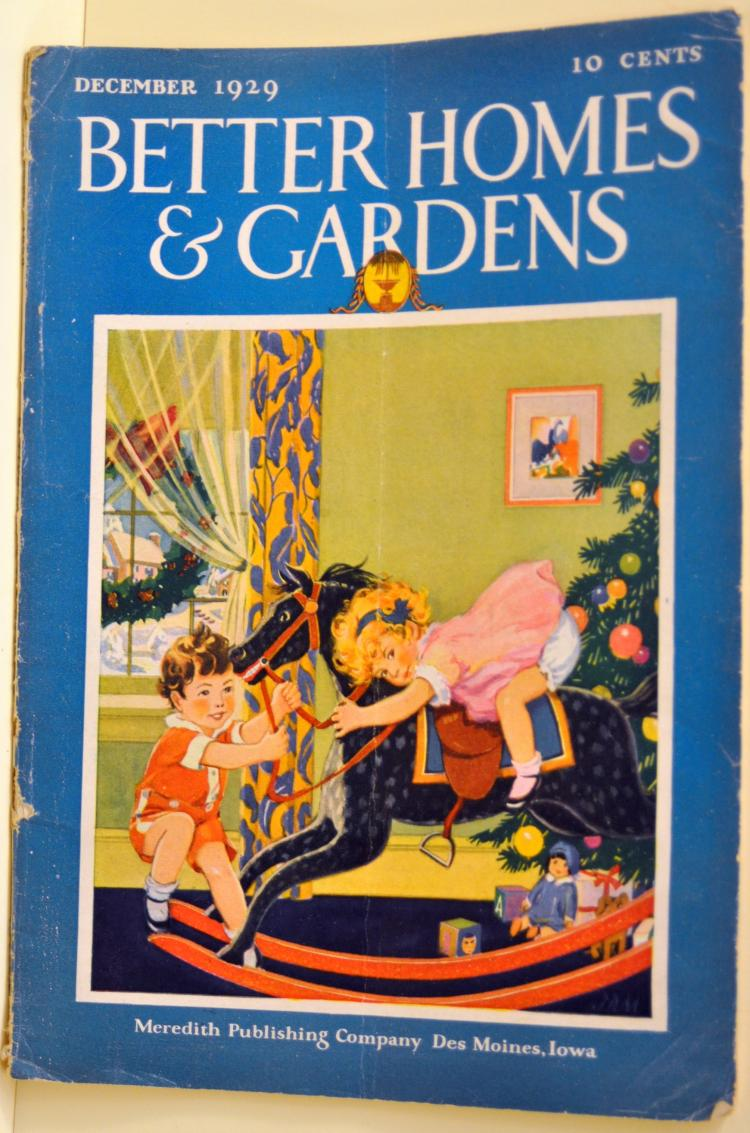 1929 Better Homes Gardens magazine