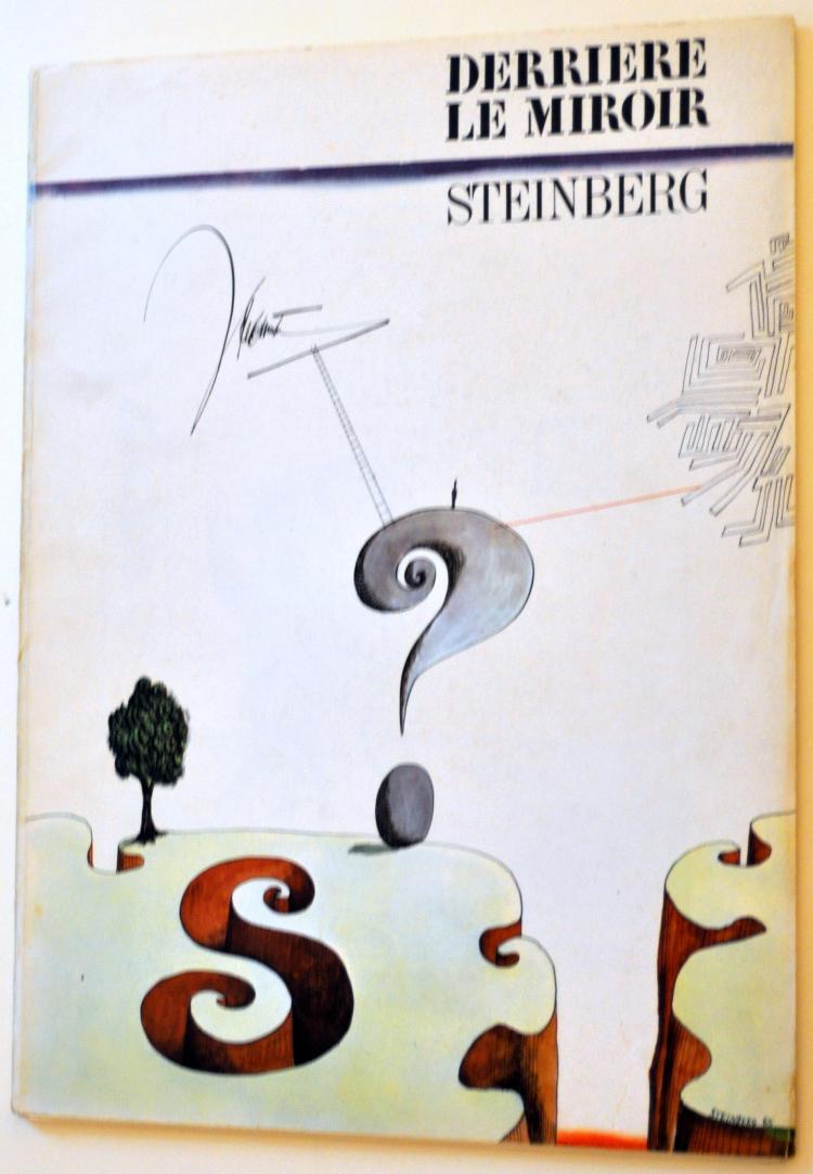 Steinberg Derriere le Miroir lithos