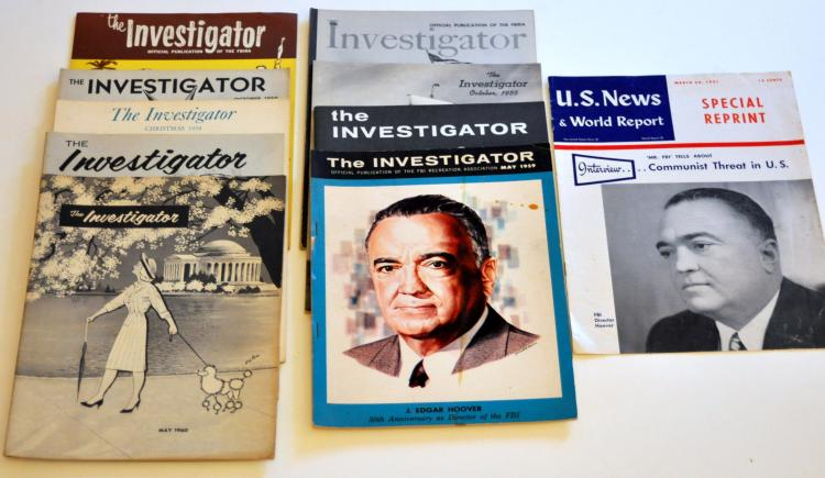 Hoover The Investigator magazines -50's