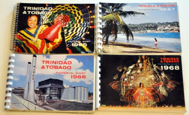 Four Trinidad Tobago diaries