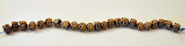 Frog beads glass custom