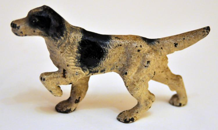 Hubley English setter paperweight