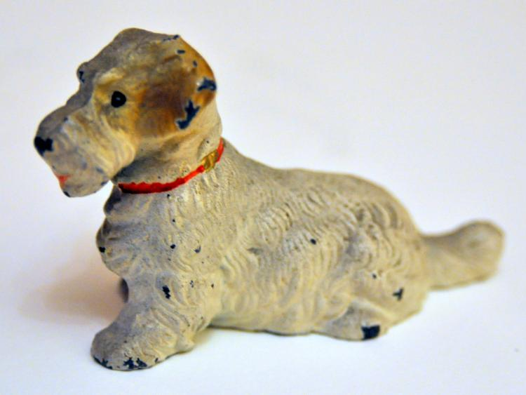 Hubley Sealyham terrier paperweight