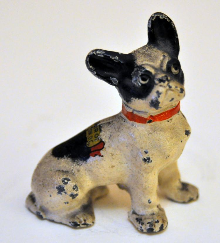Hubley French bulldog paperweight