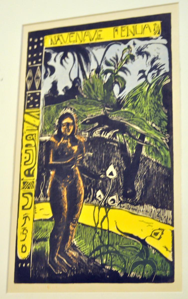 Silkscreen Gauguin Navenave Fenua
