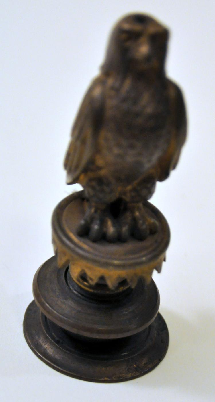 Brass falcon vintage base