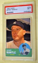 Mickey Mantle Topps 1963 card #200