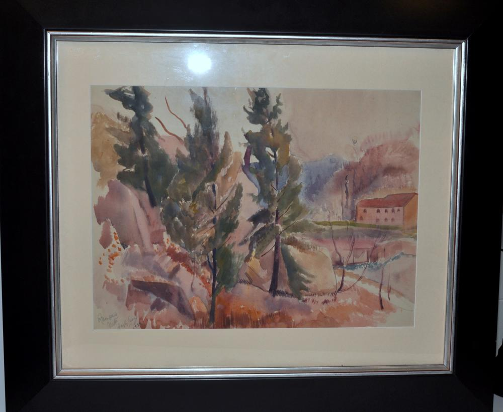 Hayley Lever watercolor New Jersey