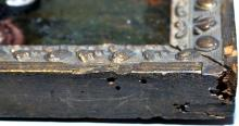 Lot 37: Femish oil 1660 on copper