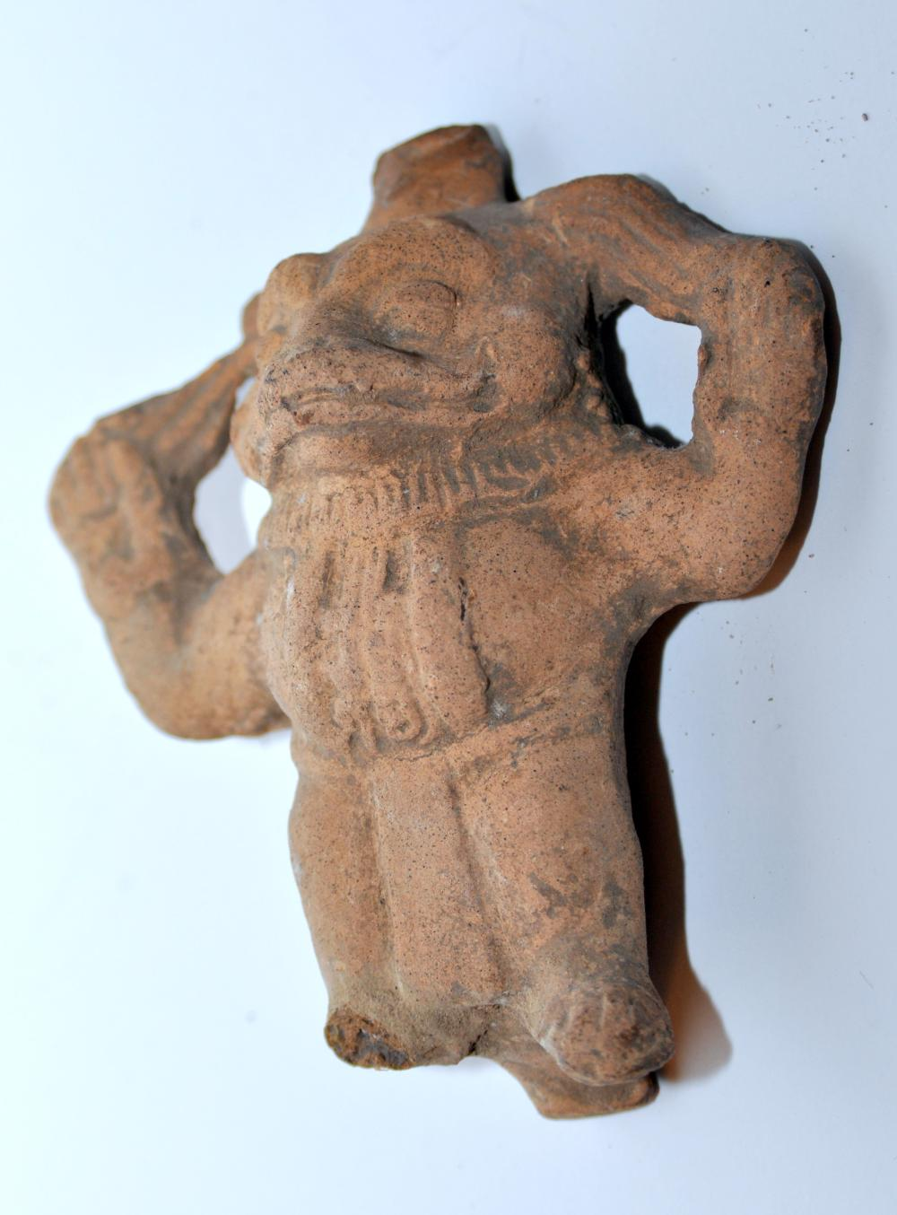Pre Columbian  frog whistle