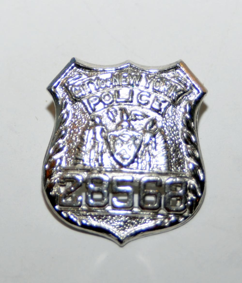 Sterling police badge NY city