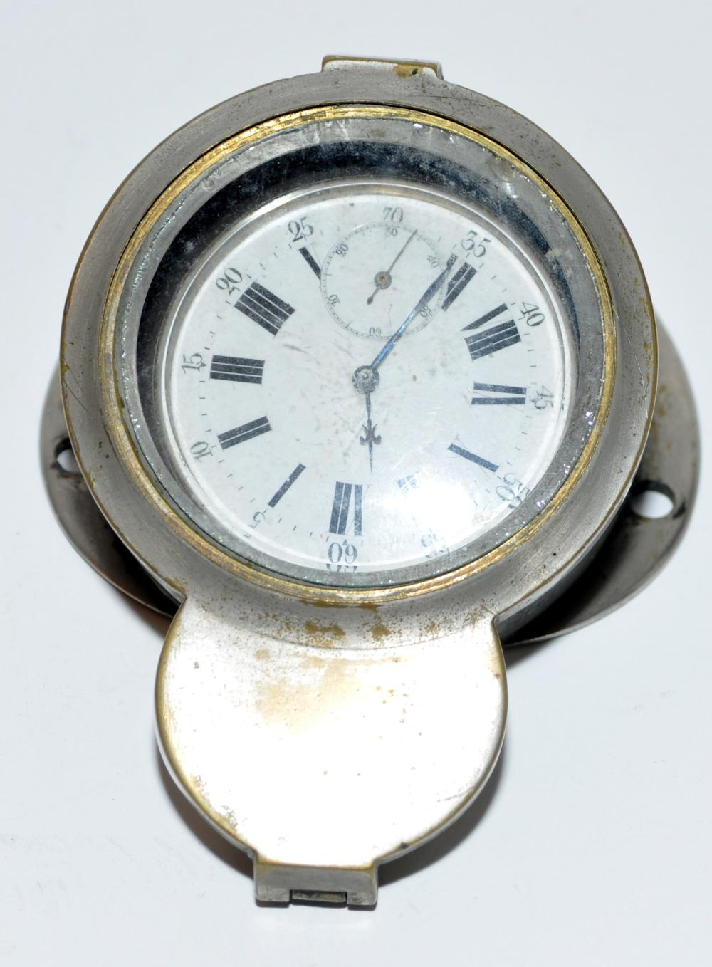 Clock speed boat watch vintage
