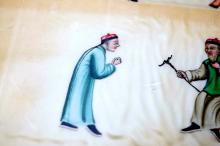Lot 72: Chinese hand painted figures
