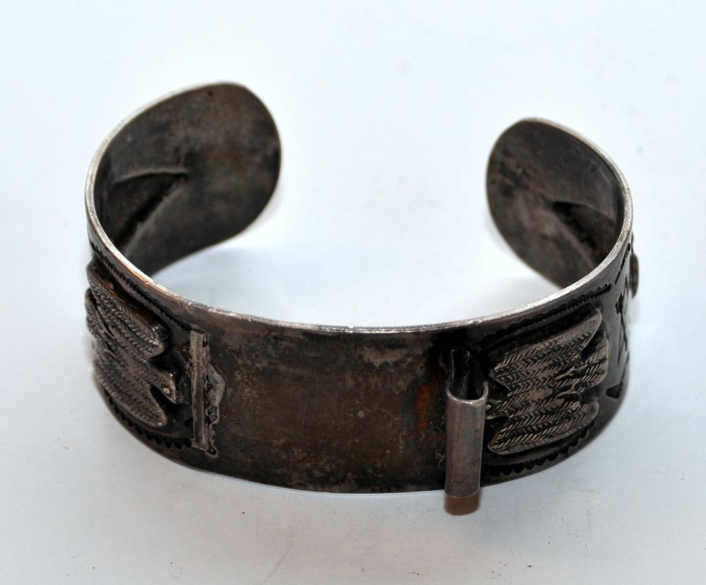 Lot 74: Vintage American Indian watch band