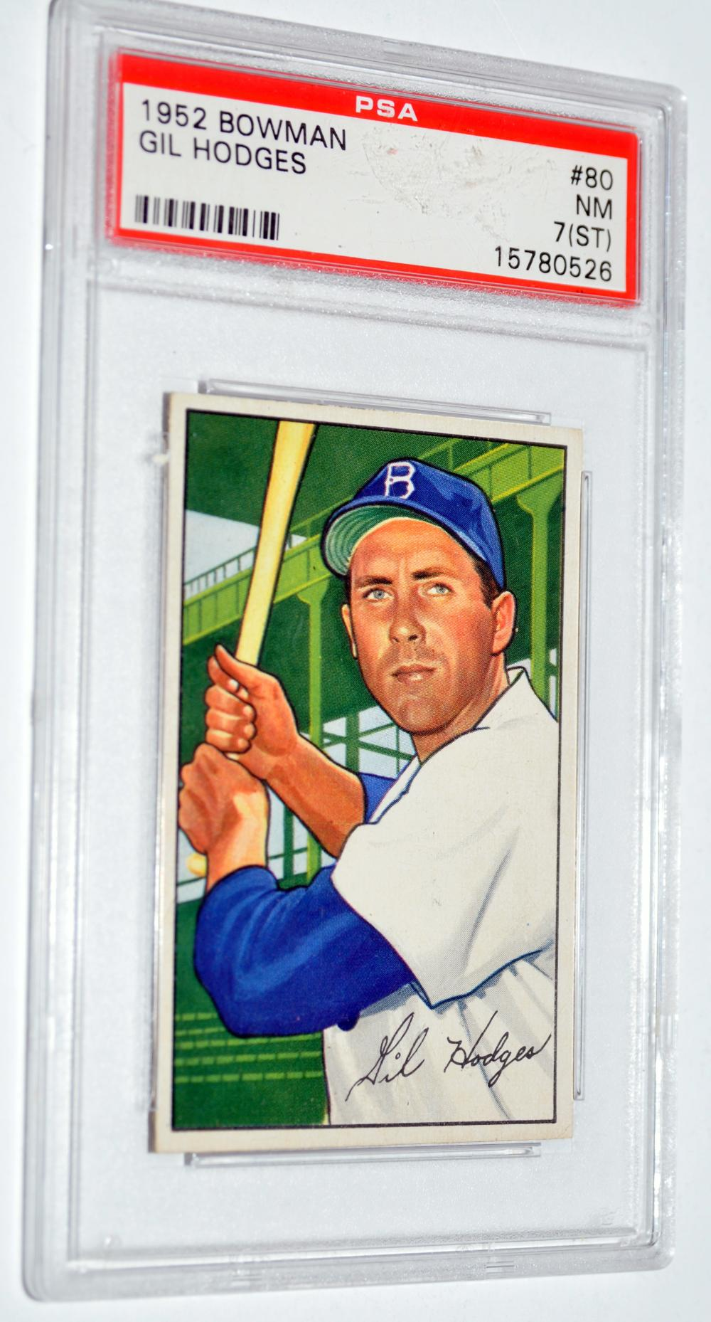 1952 Bowman Gil Hodges Brooklyn Dodgers