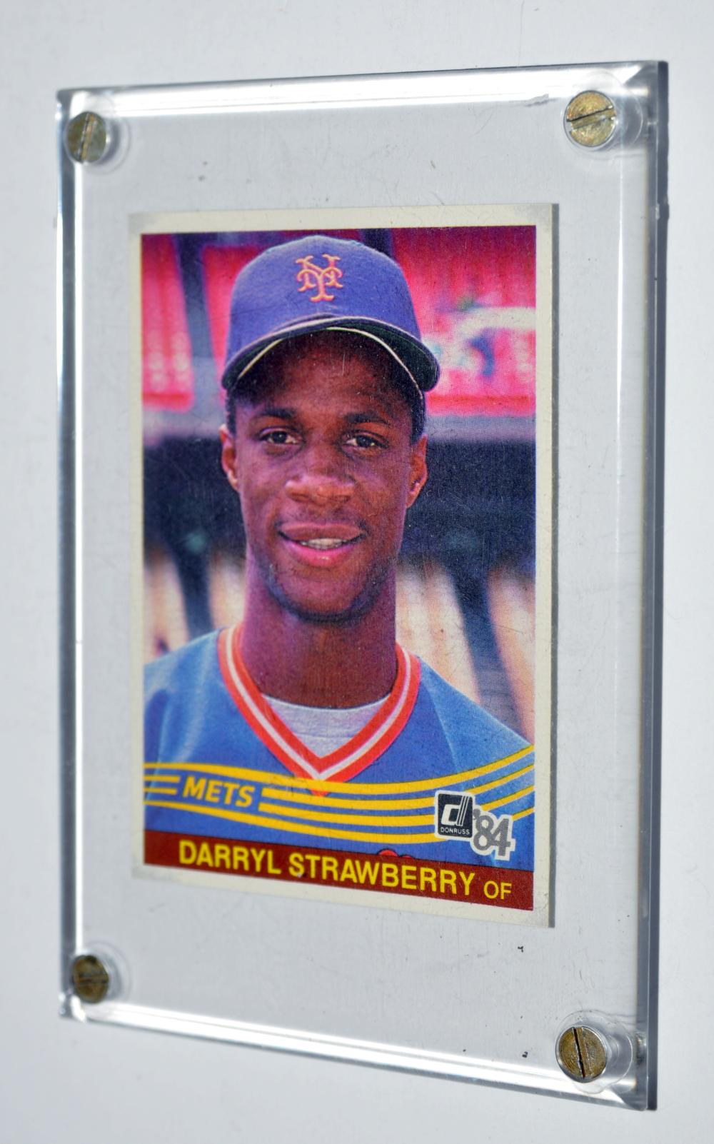 1984 Donruss #68 Darryl Strawberry rookie card